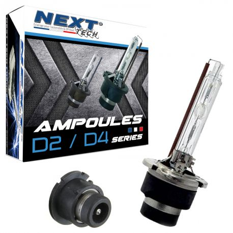 Ampoules D2S-X 55W quick start haut de gamme - Next-Tech®