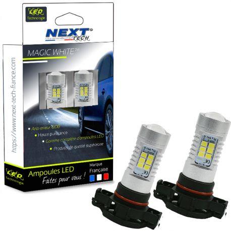 Ampoules LED PSX24W H16 CANBUS Next-Tech - Blanc