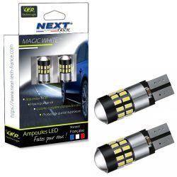 LED T10 Canbus anti-erreur ODB W5W - Blanc