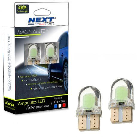 Ampoules veilleuses à LEDS W5W T10 2W NEW - Blanc froid