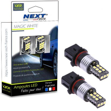 P13W LED - Ampoules LED Blanc pur - Feux de jour LED