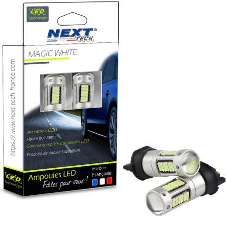 Ampoules LED PW24W - PWY24W CANBUS - Blanc - Next-Tech®