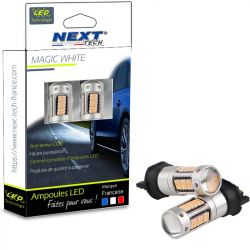 Ampoules LED PW24W - PWY24W CANBUS - Orange - Next-Tech®