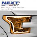 Feu arrière bande flexible DUAL LED rouge et orange clignotant