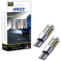 LED T10 W5W Haut de gamme CANBUS anti erreur - Blanc