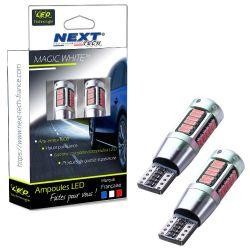 LED T10 W5W Haut de gamme CANBUS anti erreur - Rouge