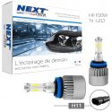 Ampoules LED H11 Haute puissance 100W - Feux de route