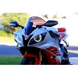 Feux de jour à LED ANGEL EYES haute qualité Moto et Scooter