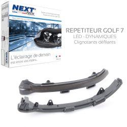 Clignotants Golf 7 rétroviseur LED Dynamique défilants
