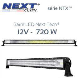 Barre LED 4x4 12v / 24v 720W - 1250mm - série NTX™