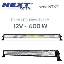 Barre LED automobile et 4x4 12v 600W - 1050mm - série NTX™