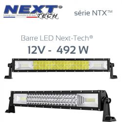 Barre LED automobile et 4x4 12v 492W - 870mm - série NTX™