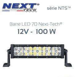 Barre LED 7D 4x4 12v 100W - 300mm - série NTS™