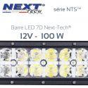 Barre LED 7D 4x4 12v 200W - 550mm - série NTS™ Next-Tech®