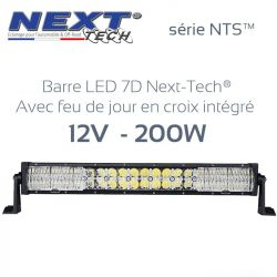 Barre LED 7D 4x4 12v 200W - 550mm - série NTS™