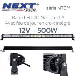 Barre LED 7D 4x4 12v 500W - 1320mm - serie NTS Next-Tech