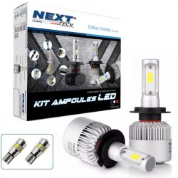 Kit ampoules LED H7 75W ventilées- Next-Tech® - Serie limitée