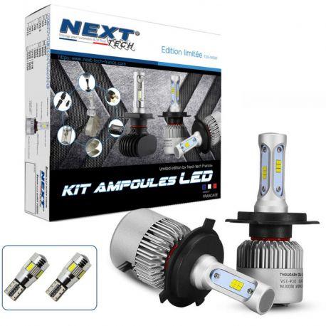 Kit ampoules Bi-LED H4 75W ventilées- Next-Tech® - Serie limitée