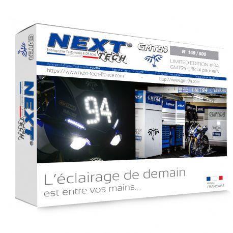 Ampoule LED moto H4 CANBUS Next-Tech® série limitée GMT94