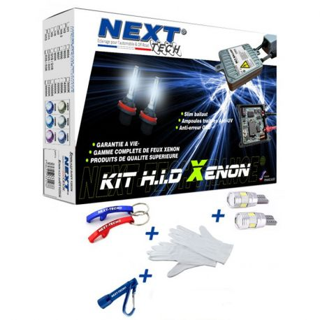 Kit xenon haut de gamme RENAULT 55W XTR™ CANBUS anti-erreur Next-Tech®
