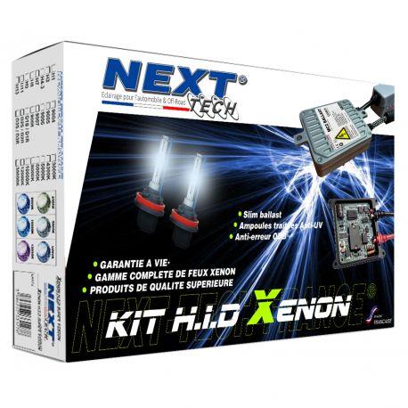 Kit xenon moto slim ballast H7 et H9 55W XPO™ anti erreur Next-Tech®