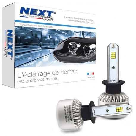 Ampoules H1 LED ventilées compactes 75W blanc - Next-Tech®