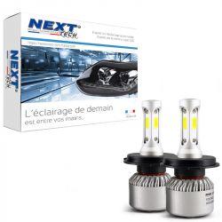 Ampoules H4 LED ventilées compactes 75W blanc - Next-Tech®