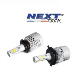 Kit LED Tmax 500 Yamaha H7 et H4 75W ventilé - Blanc