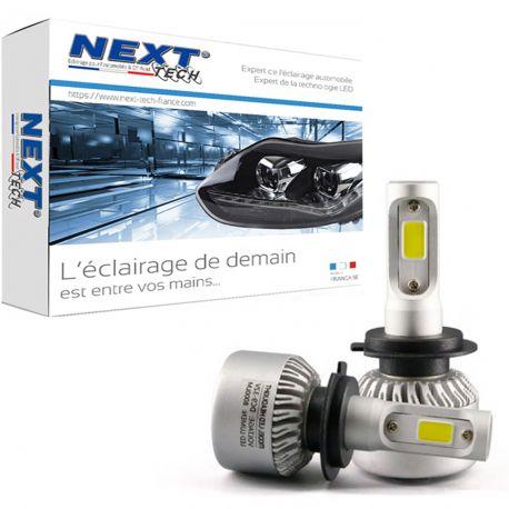 Ampoules H7 LED ventilées compactes 75W blanc - Next-Tech®