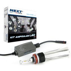 Ampoule LED moto H11 55W homologuée 6000lm Canbus - Next-Tech®