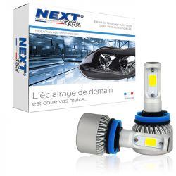 Ampoules HB4 9006 LED ventilées compactes 75W blanc - Next-Tech®