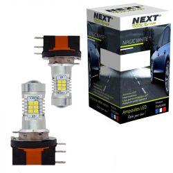 Ampoules LED H15 35W Canbus blanc avec feux de position - Feux de jour