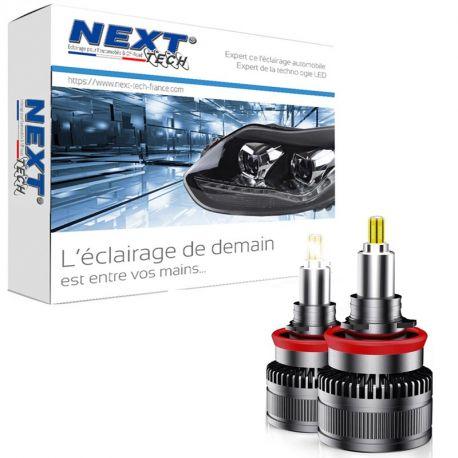 Kit LED canbus H11 85W 360° premium pour phare à lentille