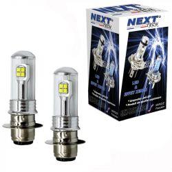 Ampoules LED H6M P15D spécial Quad
