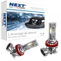 Kit ampoules LED all-in-one H11 60W canbus anti-erreur Next-Tech®