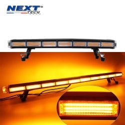 Gyrophare LED Orange 960mm pour camion 19 modes