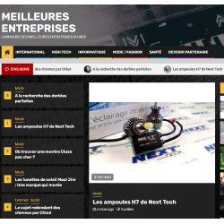 L'annuaire des meilleures entreprises du web recommande Next-Tech France