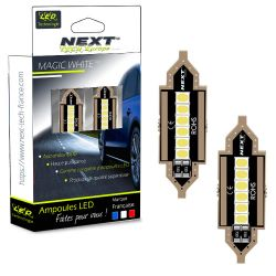 Navettes C10W LED CANBUS 10W