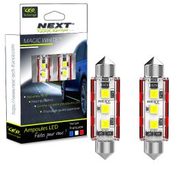 C10W LED Canbus 12V - 24V navettes 41mm Next-Tech®