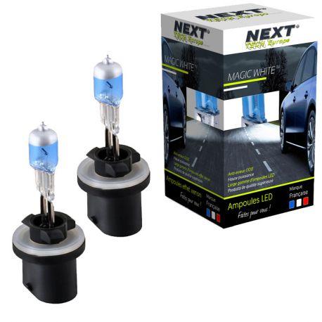 Ampoules effet xenon 880 H27 27W 6000K Next-Tech®