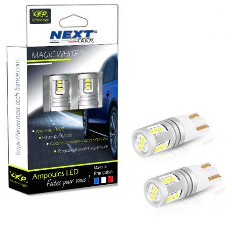 Ampoules LED T10 W5W Camion 24V - 32V anti-erreur Poids lourds