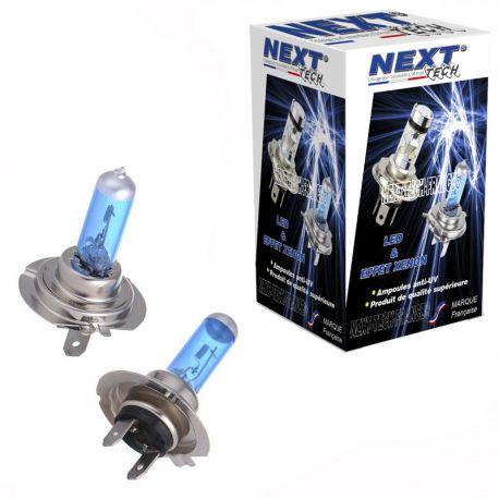 Ampoules 24V effet xenon H7 100W 6000K Next-Tech®