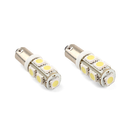 Ampoules veilleuses à LED BA9S / T4W SMD 3W - Blanc