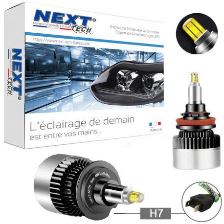 Kit LED canbus H7 85W 360° premium pour phare à lentille