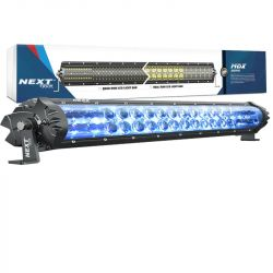Barre LED 4x4 12v-24V avec feux de jour DRL bleu