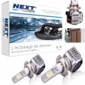 Kit LED H7 12v 24v 55W 6000K - Nouveau radiateur