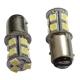 Ampoules P21/5W BAY15D 1157 à 13 LED Rouge
